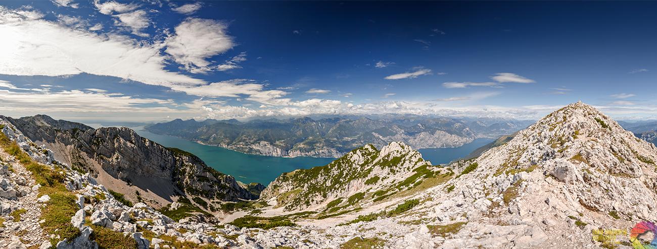 Cima Valdritta, Monte Baldo, Lago di Garda, Włochy, Italia, Dawid Twardowski, hezotart